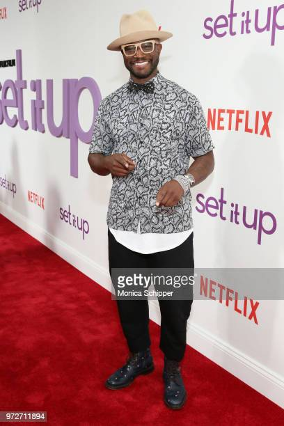 Actor Taye Diggs attends a special screening of the Netflix film 'Set It Up' at AMC Lincoln Square Theater on June 12 2018 in New York City