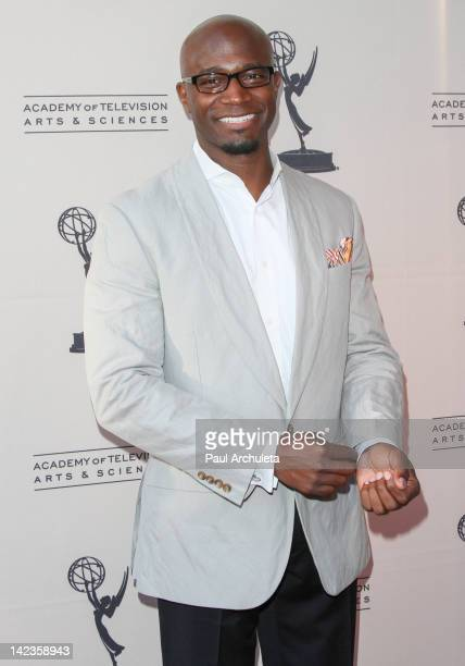Actor Taye Diggs attends the Academy Of Television Arts Sciences presentation of 'Welcome To ShondaLand An Evening With Shonda Rhimes Friends' at the...