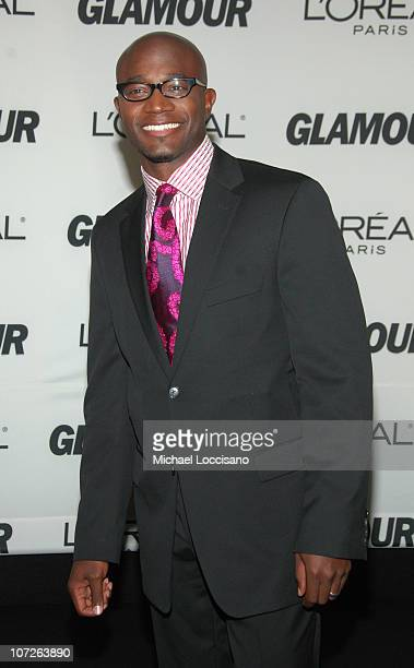 Actor Taye Diggs attends The Glamour Magazine 2007 Women of The Year Awards at Lincoln Center's Avery Fisher Hall on November 5 2007 in New York City