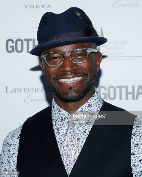 Actor Taye Diggs attends the Gotham Men's Issue Celebration at the BMW of Manhattan Showroom on November 16 2017 in New York City