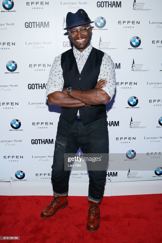 Actor Taye Diggs attends the Gotham Men's Issue Celebration at the BMW of Manhattan Showroom on November 16, 2017 in New York City.