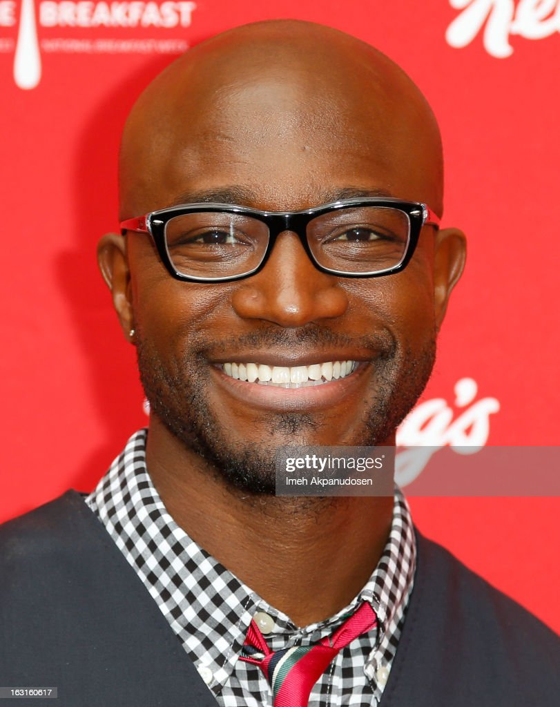Actor Taye Diggs attends the unveiling of the new Milk Mustache 'got milk' ad campaign as part of Kellogg's Share Breakfast program at Hollywood & Highland Courtyard on March 5, 2013 in Hollywood, California.