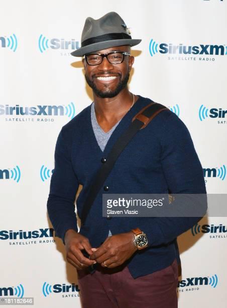 Actor Taye Diggs visits SiriusXM Studios on September 19 2013 in New York City