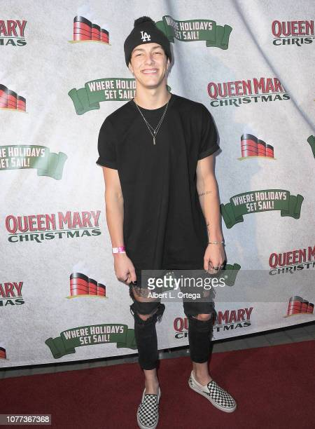 Actor Tayler Holder attends the Queen Mary Christmas Media VIP Night held on November 26 2018 in Long Beach California