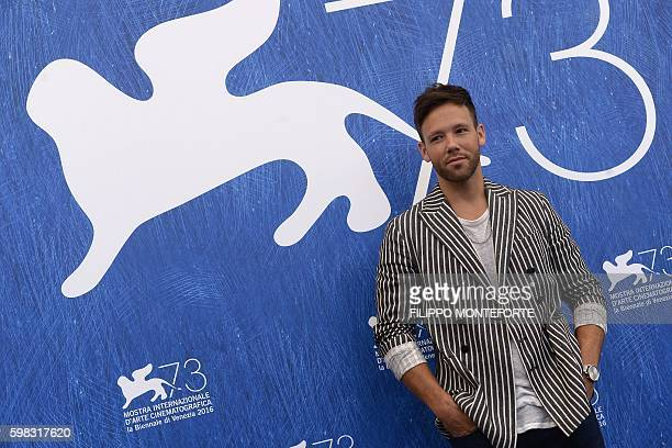 Actor Taylor Frey poses during a photocall of the movie L'Estate Addosso presented out of competition at the 73rd Venice Film Festival on August 31...