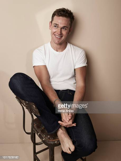 Actor Taylor John Smith is photographed on August 28, 2017 in Los Angeles, California.
