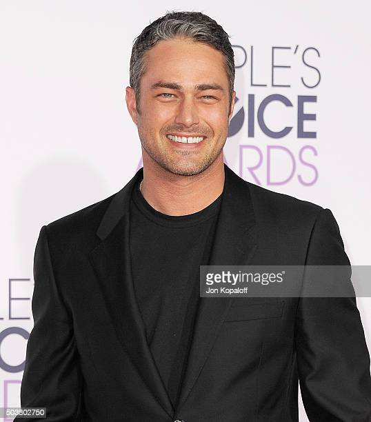 Actor Taylor Kinney arrives at People's Choice Awards 2016 at Microsoft Theater on January 6 2016 in Los Angeles California