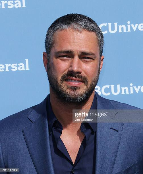 Actor Taylor Kinney attends the 2016 NBCUNIVERSAL Upfront at Radio City Music Hall on May 16 2016 in New York City