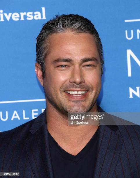 Actor Taylor Kinney attends the 2017 NBCUniversal Upfront at Radio City Music Hall on May 15 2017 in New York City