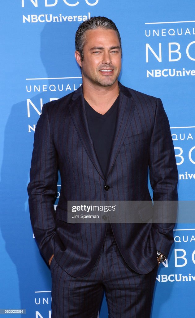 Actor Taylor Kinney attends the 2017 NBCUniversal Upfront at Radio City Music Hall on May 15, 2017 in New York City.