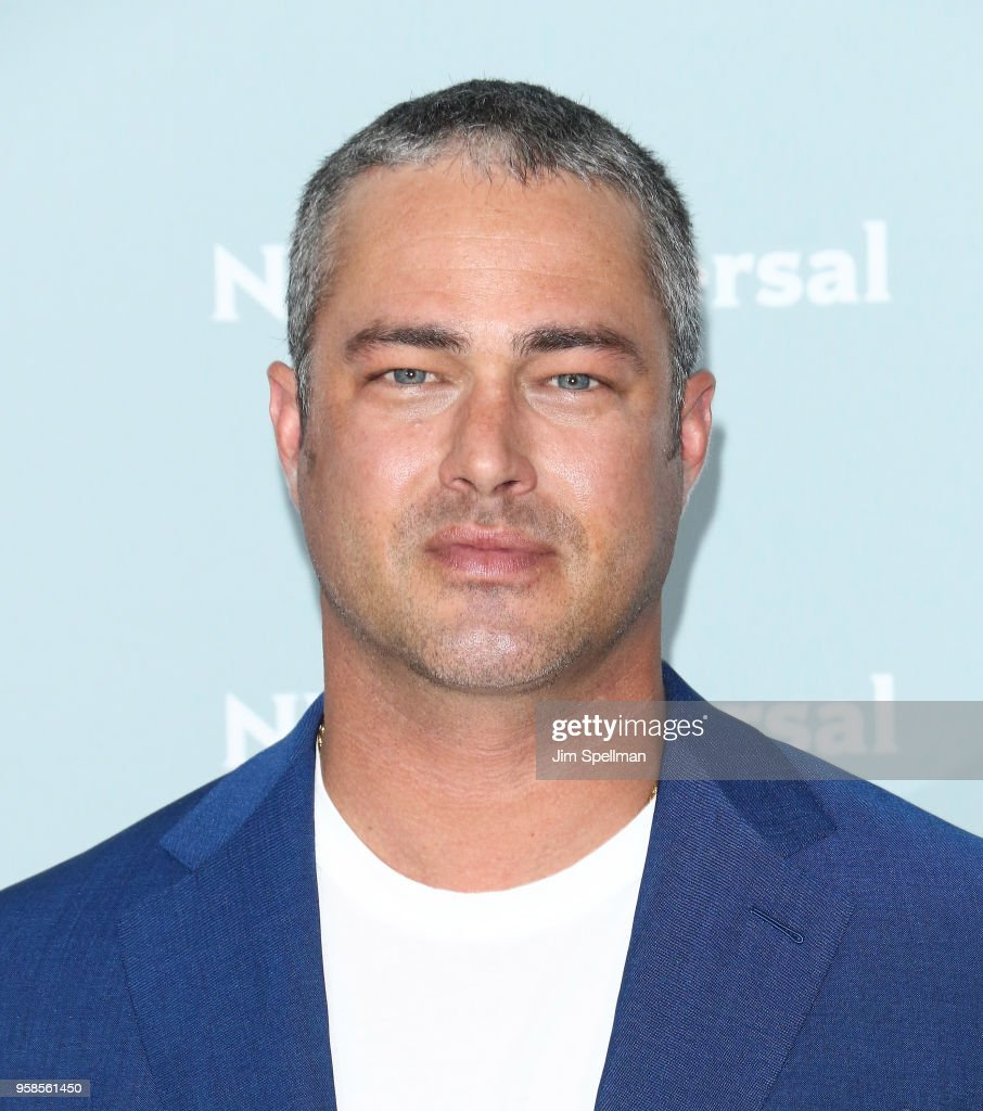 Actor Taylor Kinney attends the 2018 NBCUniversal Upfront presentation at Rockefeller Center on May 14, 2018 in New York City.