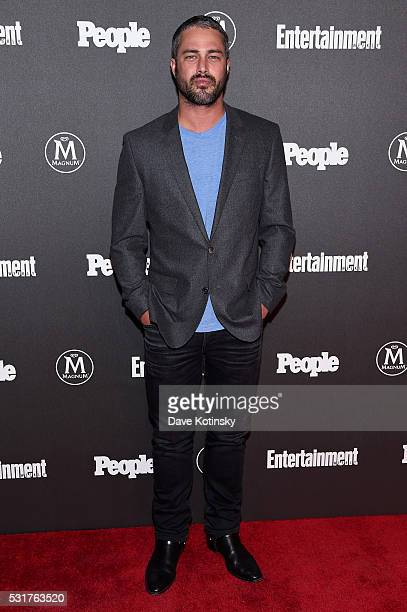 Actor Taylor Kinney attends the Entertainment Weekly People Upfronts party 2016 at Cedar Lake on May 16 2016 in New York City