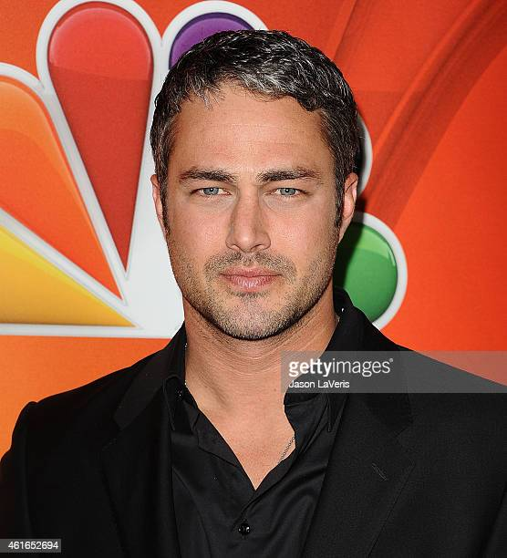 Actor Taylor Kinney attends the NBCUniversal 2015 press tour at The Langham Huntington Hotel and Spa on January 16 2015 in Pasadena California
