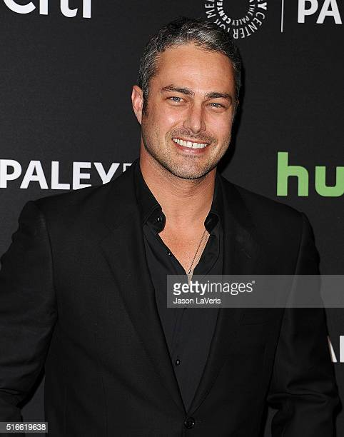 Actor Taylor Kinney attends the salute to Dick Wolf at the 33rd annual PaleyFest at Dolby Theatre on March 19 2016 in Hollywood California
