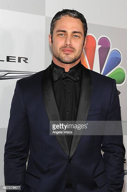 Actor Taylor Kinney attends the Universal, NBC, Focus Features, E! sponsored by Chrysler viewing and after party with Gold Meets Golden held at The...