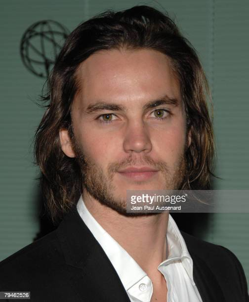 """Actor Taylor Kitsch arrives at An Evening with """"Friday Night Lights"""" held at the Leonard Goldenson theatre on January 31, 2008 in North Hollywood,..."""