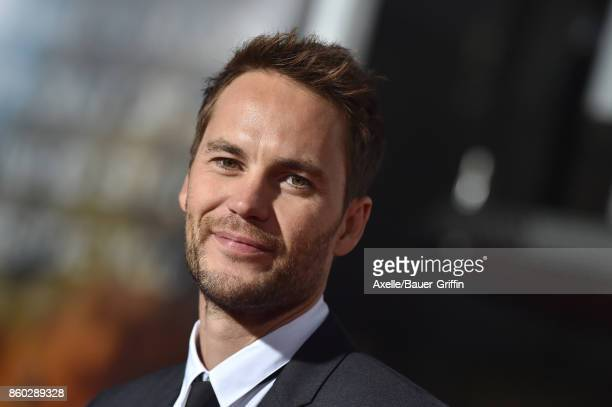 Actor Taylor Kitsch arrives at the premiere of 'Only the Brave' at Regency Village Theatre on October 8 2017 in Westwood California