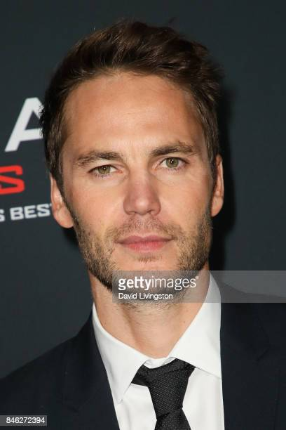 Actor Taylor Kitsch attends a Screening of CBS Films and Lionsgate's 'American Assassin' at TCL Chinese Theatre on September 12 2017 in Hollywood...