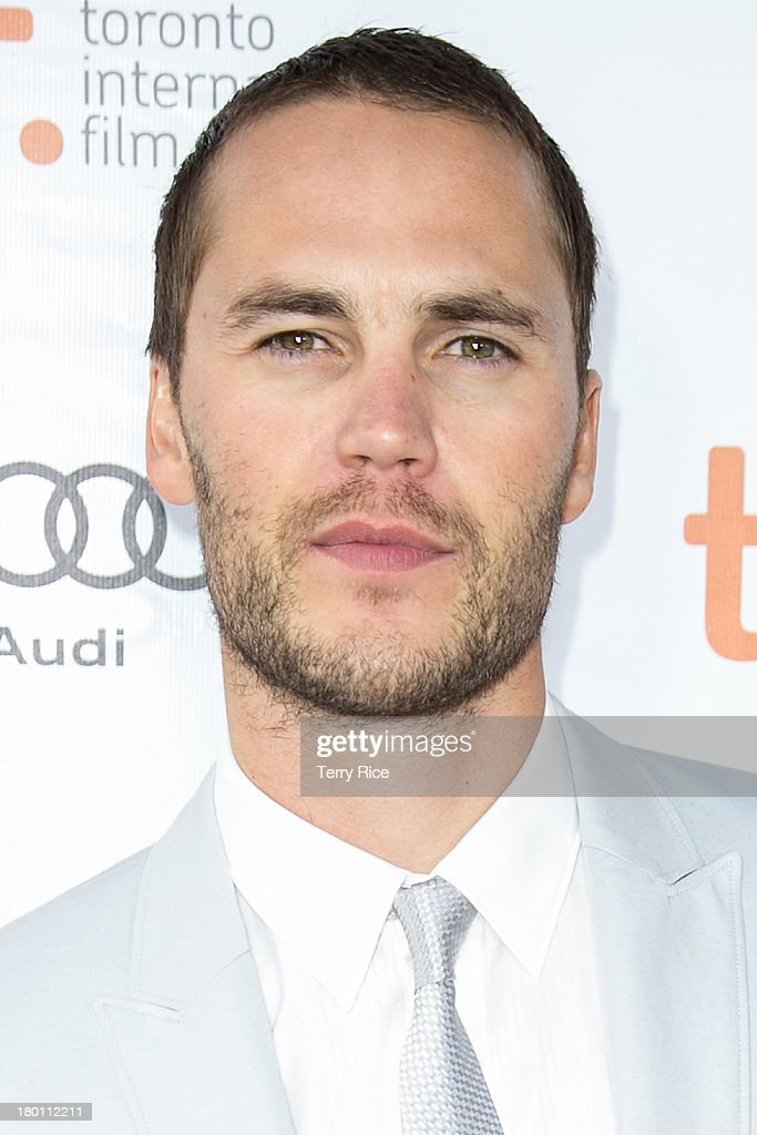 Actor Taylor Kitsch attends 'The Grand Seduction' premiere during the 2013 Toronto International Film Festival at Roy Thomson Hall on September 8, 2013 in Toronto, Canada.