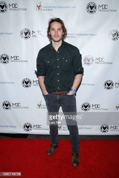 Actor Taylor Kitsch attends the MDC Productions 2018 Face Off to Fight Cancer charity hockey event to benefit Ronald McDonald House New York at the...