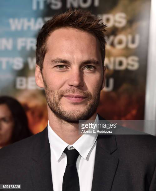 Actor Taylor Kitsch attends the premiere of Columbia Pictures' Only The Brave at the Regency Village Theatre on October 8 2017 in Westwood California