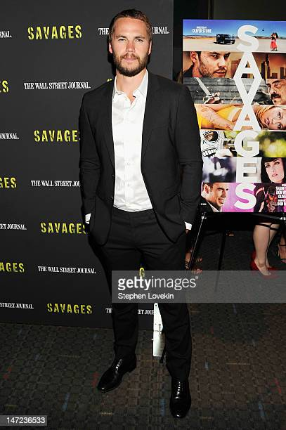 Actor Taylor Kitsch attends the Savages New York premiere at SVA Theater on June 27 2012 in New York City