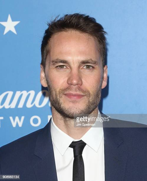 Actor Taylor Kitsch attends the 'Waco' world premiere at Jazz at Lincoln Center on January 22 2018 in New York City