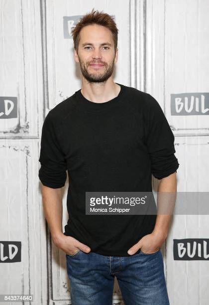 Actor Taylor Kitsch discusses his new movie American Assassin at Build Studio on September 6 2017 in New York City