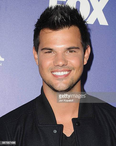 Actor Taylor Lautner arrives at the FOX Summer TCA Press Tour on August 8 2016 in Los Angeles California