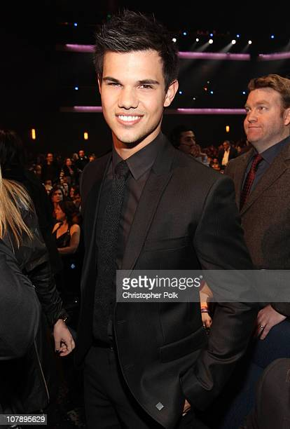 Actor Taylor Lautner attends the 2011 People's Choice Awards at Nokia Theatre LA Live on January 5 2011 in Los Angeles California
