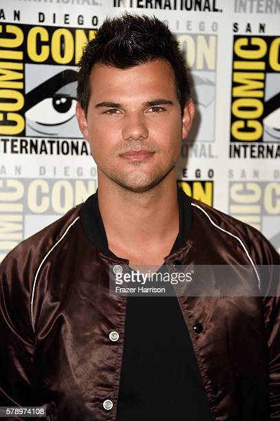 Actor Taylor Lautner attends the Scream Queens press line during ComicCon International at Hilton Bayfront on July 22 2016 in San Diego California