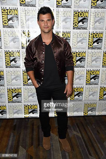 Actor Taylor Lautner attends the 'Scream Queens' press line during ComicCon International at Hilton Bayfront on July 22 2016 in San Diego California