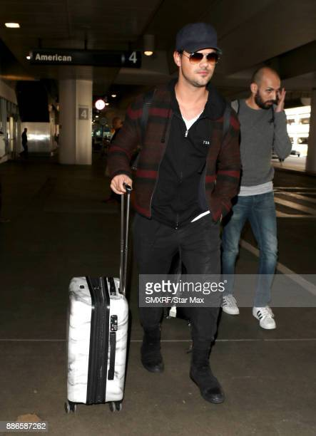 Actor Taylor Lautner is seen on December 5 2017 in Los Angeles CA