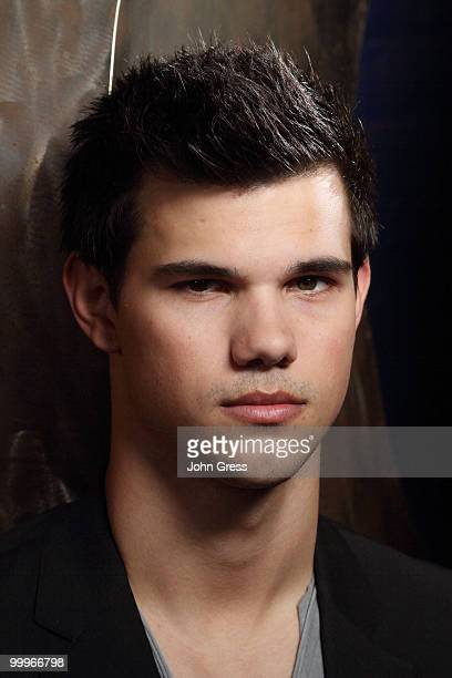 Actor Taylor Lautner poses for a private photo shoot at Marche on May 5 2010 in Chicago Illinois
