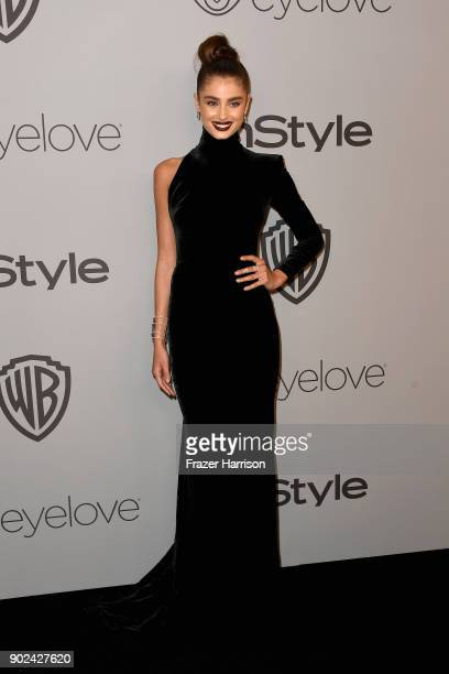 Actor Taylor Marie Hill attends 19th Annual PostGolden Globes Party hosted by Warner Bros Pictures and InStyle at The Beverly Hilton Hotel on January...
