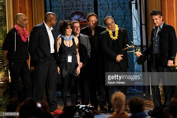 Actor Taylor Negron actor Forest Whitaker director Amy Heckerling actor Brian Backer actor Judge Reinhold actor Robert Romanus and actor Sean Penn...
