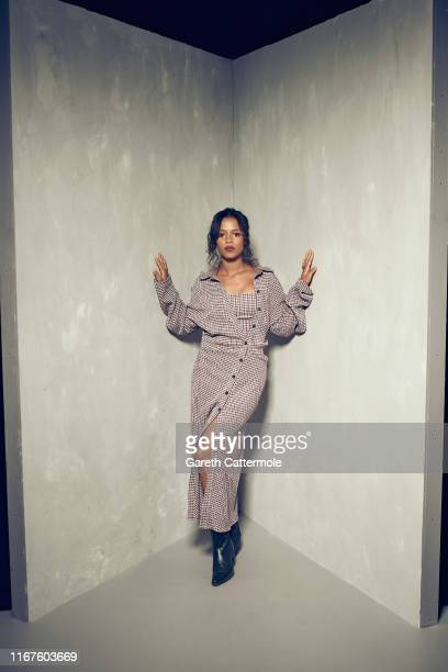 Actor Taylor Russell from the film 'Waves' poses for a portrait during the 2019 Toronto International Film Festival at Intercontinental Hotel on...