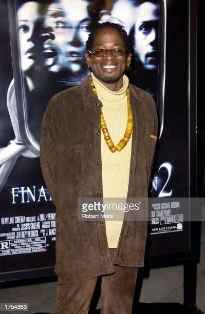 Actor TC Carson attends the world premiere of Final Destination 2 at the Arclight Cinerama Dome on January 30 2003 in Hollywood California The film...