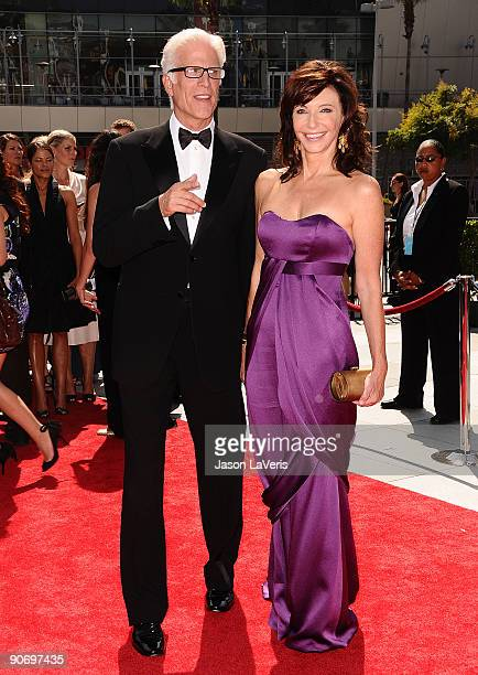 Actor Ted Danson and actress Mary Steenburgen attend the 2009 Creative Arts Emmy Awards at Nokia Theatre LA Live on September 12 2009 in Los Angeles...