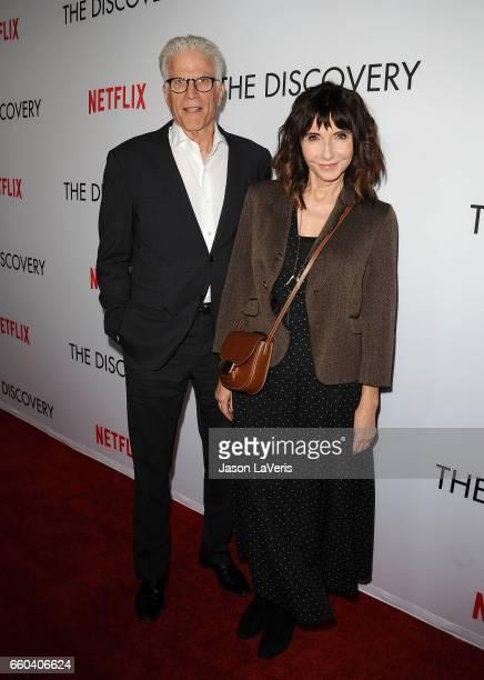 Actor Ted Danson and actress Mary Steenburgen attend the premiere of 'The Discovery' at the Vista Theatre on March 29 2017 in Los Angeles California