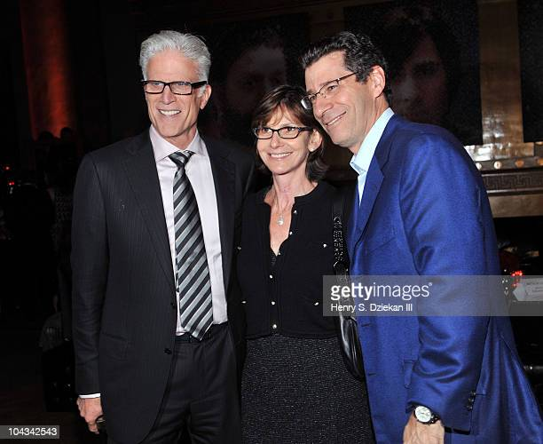 Actor Ted Danson and CoPresident HBO Eric Kessler attend HBO's Bored To Death premiere at Capitale on September 21 2010 in New York City