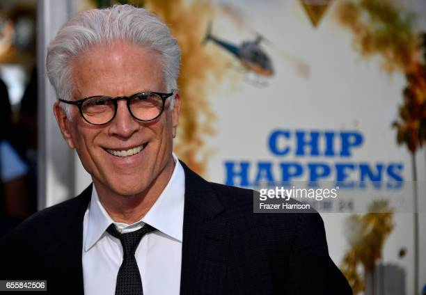 Actor Ted Danson arrives at the Premiere Of Warner Bros Pictures' 'CHiPS' at TCL Chinese Theatre on March 20 2017 in Hollywood California
