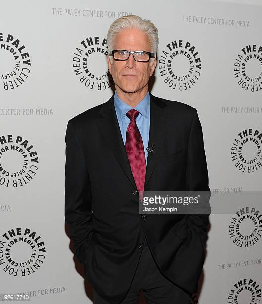 Actor Ted Danson attends a Bored To Death panel at the Paley Center For Media on November 2 2009 in New York City