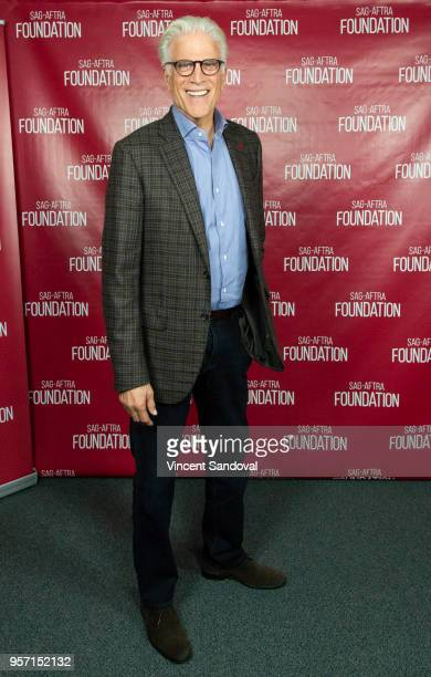 Actor Ted Danson attends SAGAFTRA Foundation Conversations screening of The Good Place at SAGAFTRA Foundation Screening Room on May 10 2018 in Los...