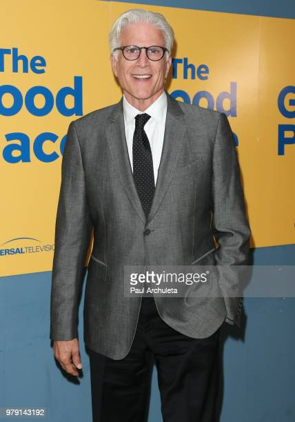 Actor Ted Danson attends the FYC screening of Universal Television's The Good Place at UCB Sunset Theater on June 19 2018 in Los Angeles California