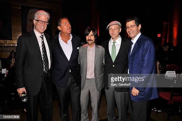 Actor Ted Danson HBO copresident Richard Plepler actor Jason Schwartzman creator and executive producer Jonathan Ames and HBO copresident Eric...