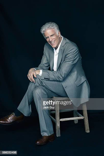 Actor Ted Danson is photographed for Emmy Magazine on December 21 2011 in Los Angeles California COVER IMAGE