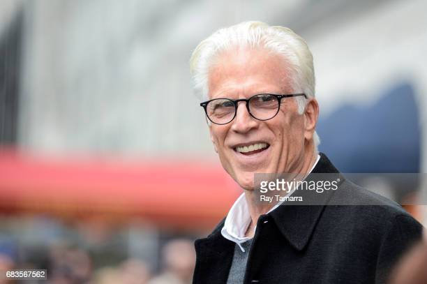 Actor Ted Danson leaves a Midtown Manhattan hotel on MAY 15 2017 in New York City