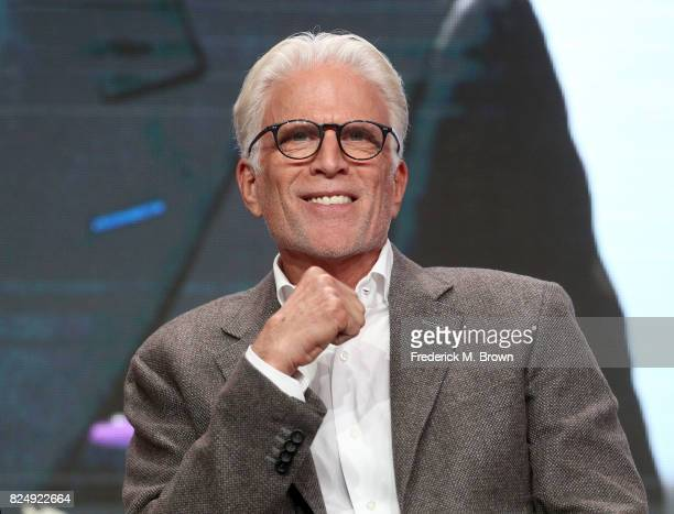 Actor Ted Danson of 'Finding Your Roots' speaks onstage during the PBS portion of the 2017 Summer Television Critics Association Press Tour at The...