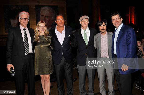 Actor Ted Danson president HBO Entertainment Sue Nagle HBO copresident Richard Plepler creator and executive producer Jonathan Ames actor Jason...